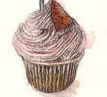 Birthday Cupcake by carnationhead