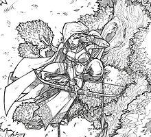 Tree Elf by deeviousgenius
