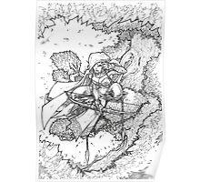 Tree Elf Poster