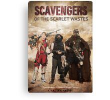Scavengers of The Scarlet Wastes Season 1 Poster Canvas Print