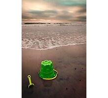Beach Toys Photographic Print