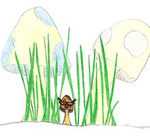 At the Party, Be the Fungi. by Katy Wuerker