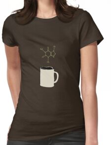 Caffeine Compound Womens Fitted T-Shirt