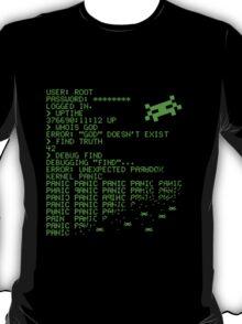 Kernel Panic! - green T-Shirt