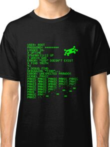 Kernel Panic! - green Classic T-Shirt
