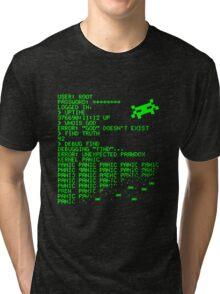 Kernel Panic! - green Tri-blend T-Shirt