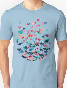Heart Connections - Watercolor Painting Unisex T-Shirt