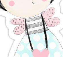 Fairy love heart Sticker