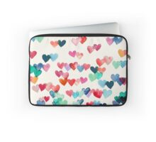 Heart Connections - Watercolor Painting Laptop Sleeve