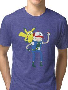 Pokemon Time Tri-blend T-Shirt
