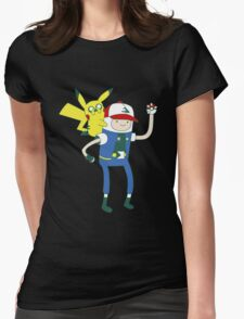Pokemon Time Womens Fitted T-Shirt