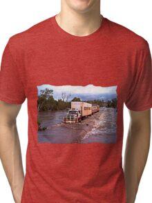 Truck Crossing Ord river Tri-blend T-Shirt