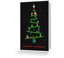 Merry Bitmas! Greeting Card