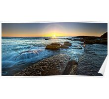 Whale Beach Sunrise, Sydney, NSW Poster