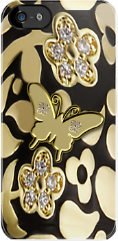 Ƹ̴Ӂ̴ƷGOLDEN BUTTERFLY IPHONE CASE A TOUCH OF ELEGANCE Ƹ̴Ӂ̴Ʒ by ╰⊰✿ℒᵒᶹᵉ Bonita✿⊱╮ Lalonde✿⊱╮