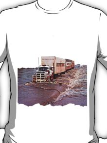 truck crossing ord 3 T-Shirt