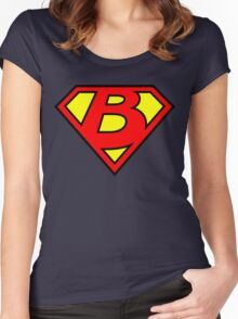Super B Women's Fitted Scoop T-Shirt