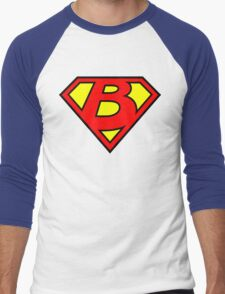 Super B Men's Baseball ¾ T-Shirt
