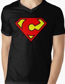 Super C Mens V-Neck T-Shirt
