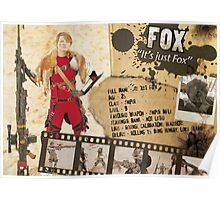 Fox's Character Sheet (Scavengers Webseries) Poster