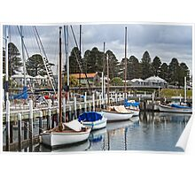 Port Fairy yachts Poster
