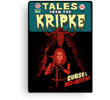 Tales from the Kripke Canvas Print