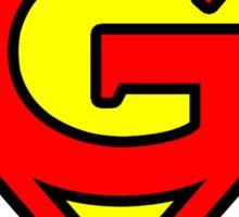 Super G Sticker