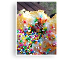 There's an Ant on my Donut... Canvas Print