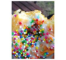 There's an Ant on my Donut... Photographic Print