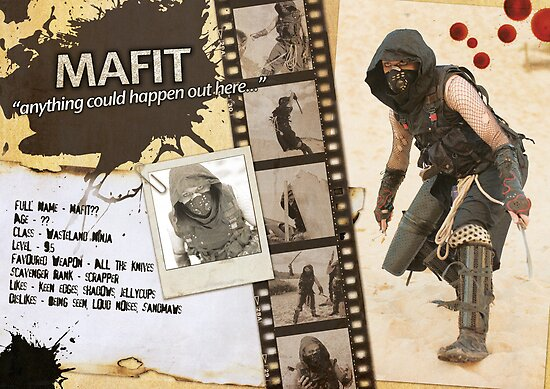 Mafit's Character Sheet (Scavengers Webseries) by Kenazz