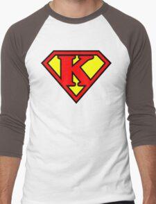 Super K Men's Baseball ¾ T-Shirt