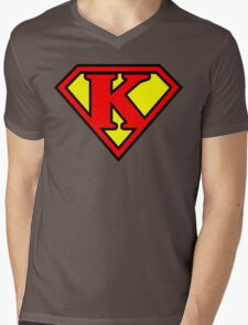 Super K Mens V-Neck T-Shirt