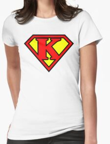 Super K Womens Fitted T-Shirt
