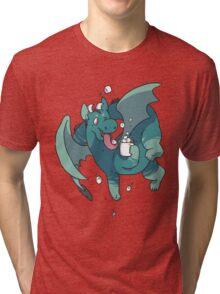 Cocoa Dragon Tri-blend T-Shirt