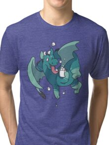 Cocoa Dragon Tri-blend T-Shirt