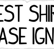 test shirt please ignore Sticker