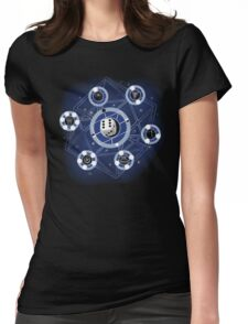 Chaos Rules Womens Fitted T-Shirt