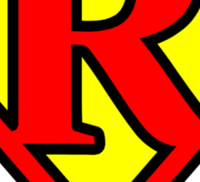 Super R Sticker