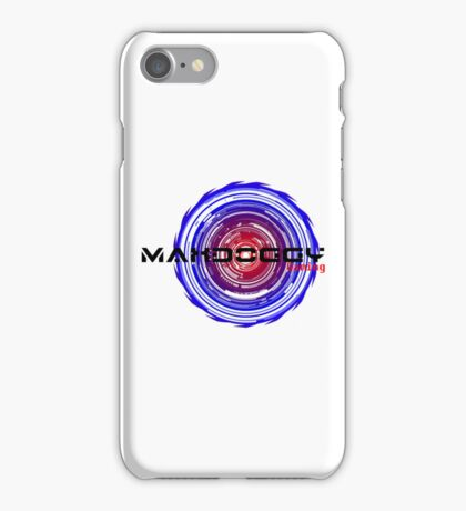 Maxdoggy Gaming - Black Text iPhone Case/Skin