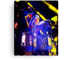 Drummer Rod Lincoln Canvas Print