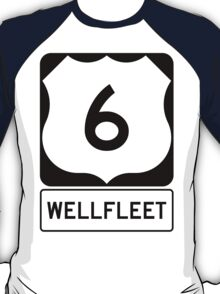 US 6 - Wellfleet Massachusetts T-Shirt