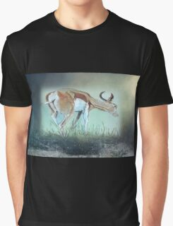 For now he waits, all alone, wild and free Graphic T-Shirt