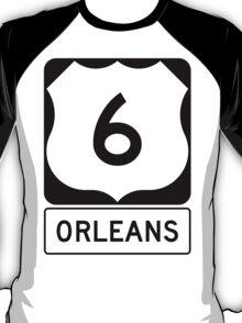 US 6 - Orleans Massachusetts T-Shirt