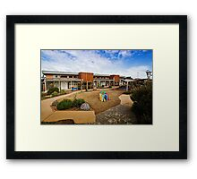 Port Fairy community centre Framed Print