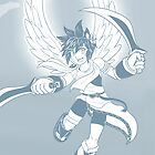 Pit - Kid Icarus by SaBasse