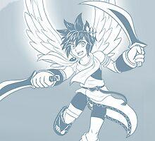 Pit - Kid Icarus by SaBasse