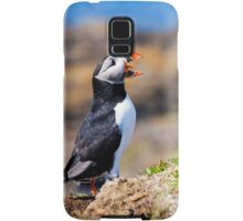 Puffin Treshnish Isles - Scotland Wildlife Samsung Galaxy Case/Skin