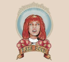 St. Leeloo of the Big Bada Boom by Monica Lara