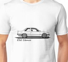 E30 Stance Unisex T-Shirt