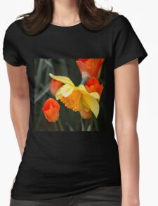 Narcissus Tulip  Womens Fitted T-Shirt